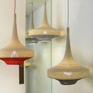 efecto crochet en decoración e interiorismo